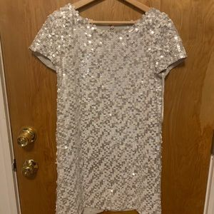 French connection sequin dress size 4